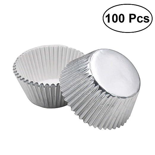 Moldes magdalenas aluminio rosenice moldes de horno para cupcakes ...