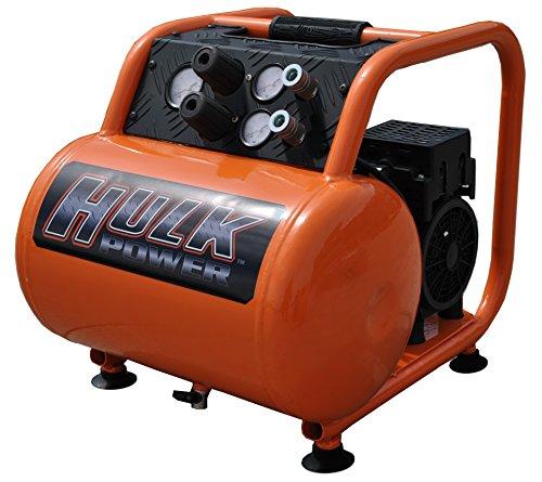 e Air Compressor, 125 PSI, 5 Gallon, HULK Silent Series, Model HP15P005SS by EMAX Compressor ()