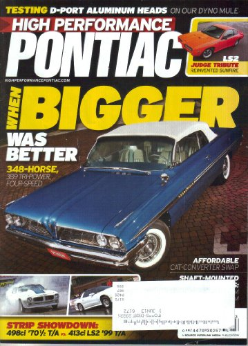 (High Performance Pontiac Magazine, Vol. 34, No. 3 (March, 2013) (ISSN 0745-5941))