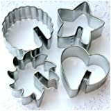 Over the Edge 4 Piece Tin Cookie Cutter Set 6732