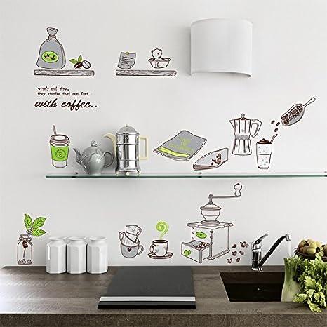 Zooarts dibujos animados taza de café accesorios de cocina extraíble ...