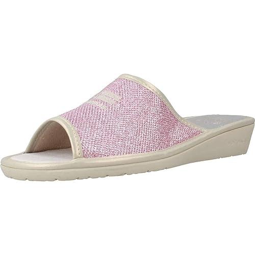 Zapatillas de Estar por casa de Mujer, Color Rosa, Marca NORDIKAS, Modelo Zapatillas De Estar por Casa De Mujer NORDIKAS 8050B 8 Rosa: Amazon.es: Zapatos y ...
