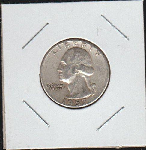 1957 Washington Quarter Choice Extremely Fine