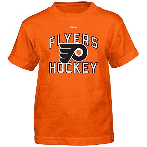 Outerstuff NHL Philadelphia Flyers Open Net Short Sleeve Tee, Large/(7), Orange