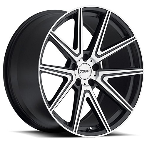 TSW ROUGE 18x9.5 5/120 ET20 CB76.1 GUNMETAL W/MIRROR CUT FACE