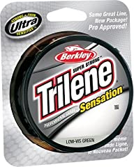 Professional grade Trilete sensation has been trusted by our Berkley Pro staff for more than a decade. With extreme strength-per-diameter, it is still flexible and manageable. This strength allows us to make it in smaller diameters for better...