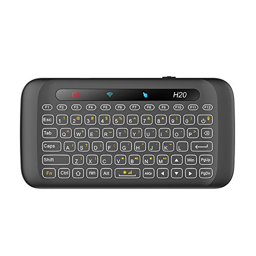 Eoncore Mini 2.4G Wireless Backlight Touchpad Keyboard with Mouse Remote Control for PC Mac Android HTPC IPTV Google TV Box Pad