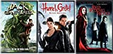 Jack the Giant Slayer + Red Riding Hood & Hansel & Gretel: Witch Hunters DVD Set Amazing Fairy Tale Action Double Feature