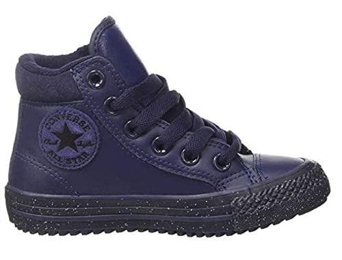 d34388e82f9 es Niño Cuero Zapatos Y Amazon Para Converse Zapatillas De qTwP7