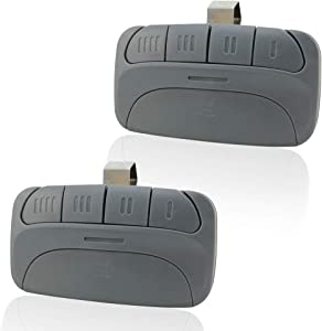 Garage Door Remote Replacement for Liftmaster 971LM Chamberlain 950CB Craftsman 139.53681 Compatible with Garage Door Openers with Red Orange Learn Button 390MHz - 2 Pack