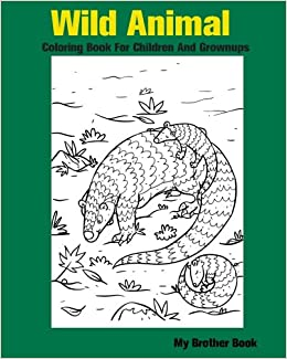 Amazon.com: Wild Animal Coloring Book For Children And ...