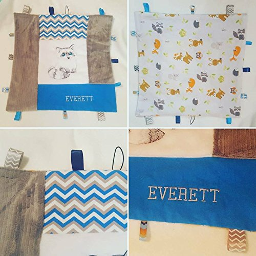 Personalized Feelly/Sensory/Tag Baby Log Cabin