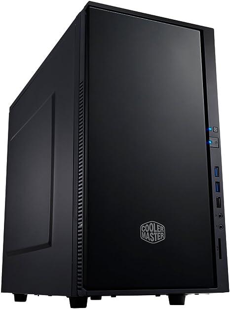 Cooler Master SIL-352M-KKN1 - Caja de Ordenador de sobremesa (Ventilador de 120 mm, DVD/CD-RW, 3 Puertos USB), Negro: Amazon.es: Informática