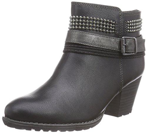 s.Oliver 2542 - botas de material sintético mujer negro - negro