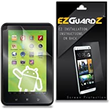 "(3-Pack) EZGuardZ Zeki 7"" Tablet TDBG773B Tablet Screen Protector (Ultra Clear)"