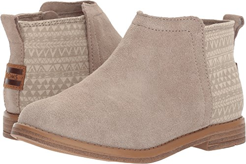 TOMS Kids Girl's Deia (Little Kid/Big Kid) Desert Taupe Suede/Mud Hut 5.5 Big Kid - Hut Big