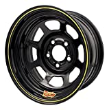 AERO RACE WHEELS 50-Series 15x7 in 5x4.75 Black Wheel P/N 50-174740