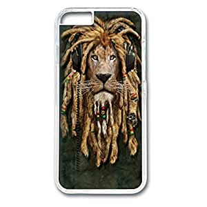 Custom Case with DJ Jahman Personalized Back Snap On Case for iPhone 6 4.7 PC Transparent