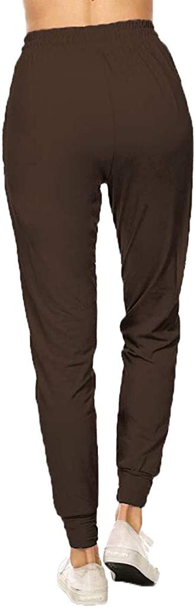 Hessimy Womens Active Yoga Sweatpants Workout Joggers Pants Sweat Pants with Pockets
