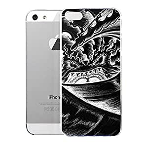 Light weight with strong PC plastic case for Iphone 5/5s Art Paintings Volcano by mcsharks