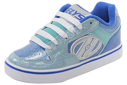 Heelys Girl's Motion Plus (Little Kid/Big Kid/Adult) Royal/New Blue/Ice Blue Sneaker 6 Big Kid, 7 Women's M by Heelys