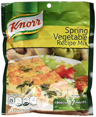 Knorr Spring Vegetable Soup Mix, 0.9 Ounce (Vegetable Spring Soup)