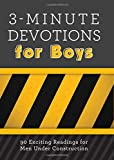 The One Year Book Of Devotions For Boys Tyndale Children border=