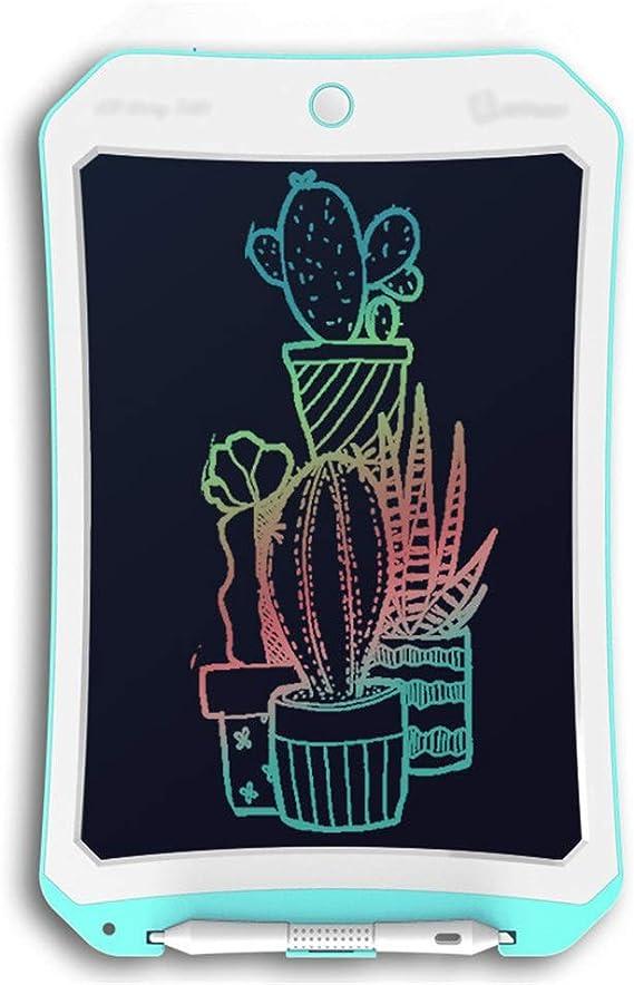 軽量液晶ライティングボード ホームでのカラー液晶電子書き込みタブレットタブレットやアウトドア手書きグラフィティボードの描画 実用的で美しい (色 : Blue, Size : 8.5 inches)