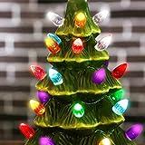 "Sunnyglade 9.1"" Ceramic Christmas Tree Tabletop"