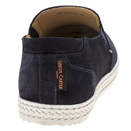 Navy Baskets Simon Carter Homme Mode Bream xHnCnrX