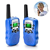BaoFeng Kids Walkie Talkies 22 Channel Two Way Radio Walkie Talkies 3 Miles (Up to 5Miles) FRS/GMRS Handheld Mini Walky Talky Toy Kids