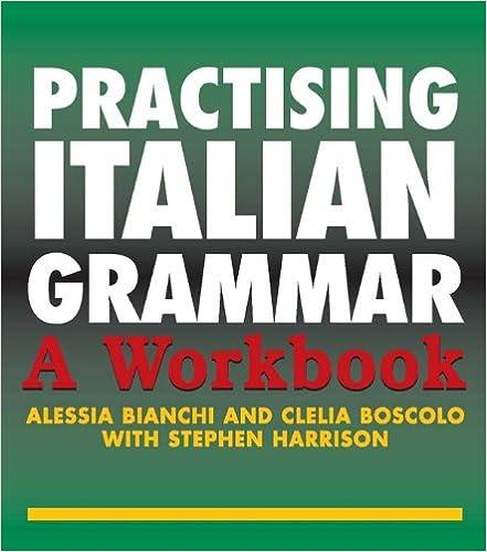 Grammar workbook pdf italian