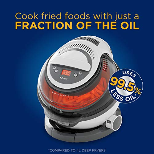 Oster  Dura Ceramic Air Fryer, Large/3L, Black by Oster (Image #1)
