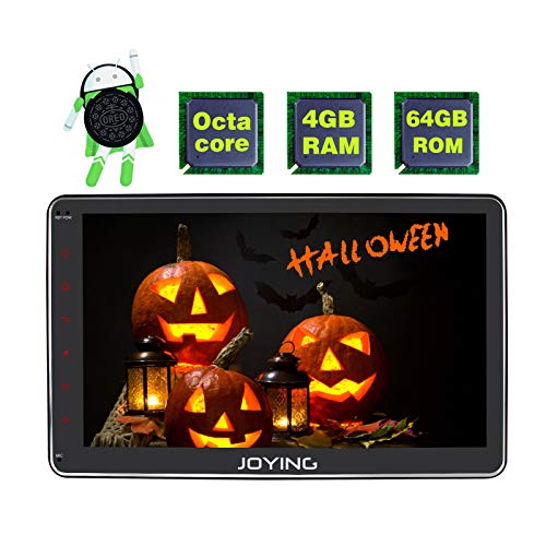 JOYING Car Stereo 4GB + 32GB Android 8 0 Octa Core 10 1 inch Double Din  with Zlink & Android Auto Fast Boot DVR RCA Rear Camera OBDII Video Out