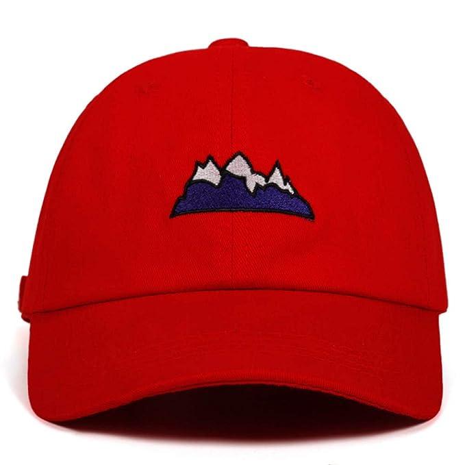 Yhtdhaq Sombrero de montaña de algodón Castle Peak Gorras de ...