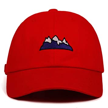 QYNQHY Algodón Mountain Dad Hat Castle Peak Gorras De Béisbol ...