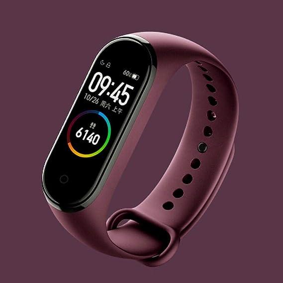 QXLhxuIo Smartwatch Compatible con Xiaomi Mi Band 4 Pulsera ...