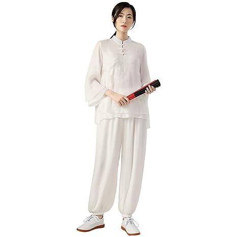Ropa de Tai Chi para Mujer Ropa de Kung Fu Traje de Wushu ...