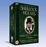 The Adventures of Sherlock Holmes & The Return of Sherlock Holmes (Region 2 PAL DVD set)