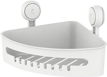 Taili Drill-Free Suction Corner Shower Caddy