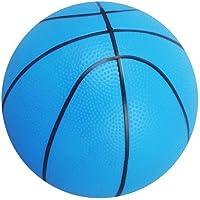 Ogquaton Mini-Ballon de Mousse Ballon Enfant précoce éducation Balle Sport Balle PVC Jouet Basket-Ball pour Enfants ou débutant Jouer Bleu