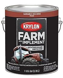 Krylon 1982 Krylon Farm & Implement Paints Sandable Red Oxide Primer 128 oz. Gallon Krylon Farm & Implement Paints