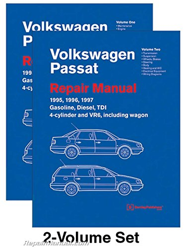 VP97 Volkswagen Passat (B4) Repair Manual 1995 1996 1997 Gasoline Turbo Diesel TDI 4-cylinder VR6 (1997 Volkswagen Passat B4 Wagon)