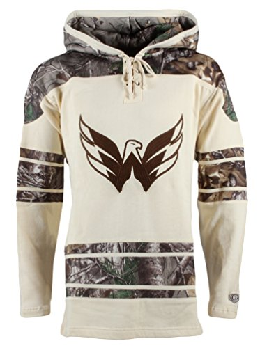 Time Old Hockey Gear (Old Time Hockey NHL Washington Capitals Alexander Ovechkin Men's Realtree Lacer Name & Number Hoodie, XX-Large, Multi Color)