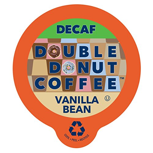 Enlarge Donut Decaf Flavored Coffee, in Recyclable Single Serve Cups for Keurig K-Cup Brewers, 80 Count (Decaf Vanilla Bean)