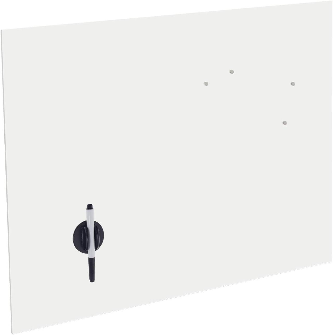 Glas Magnettafel Wandtafel Memoboard Pinnwand Schreibtafel 40x30cm inkl Zubehör