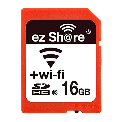 2017 Promotion Pen Drive 100% original Real Capacity ez share wifi sd card Memory Card Sdhc card Camera (16GB)