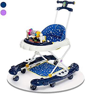 ZHANGYU Andador para bebés con 2 Frenos de Altura Ajustable con ...