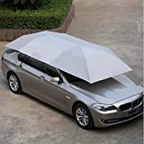 Hitommy 400 * 210cm 210D Oxford Cloth Car Shelter Umbrella Tent Roof Shade