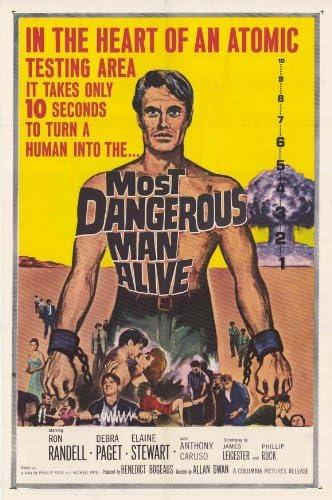 El hombre vivo más peligroso Póster de película 11 x 17 - 28 ...